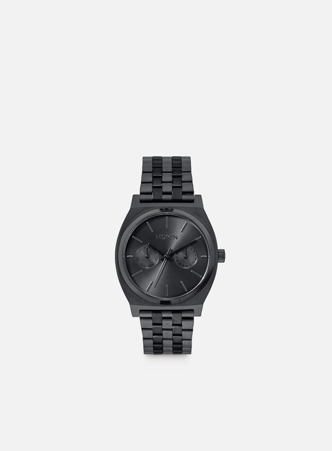 accessori nixon time teller deluxe all black