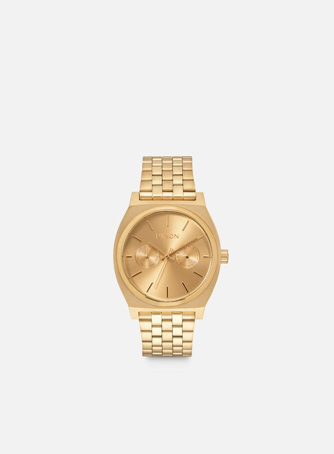 accessori nixon time teller deluxe all gold