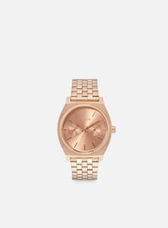 Nixon - Time Teller Deluxe, All Rose Gold