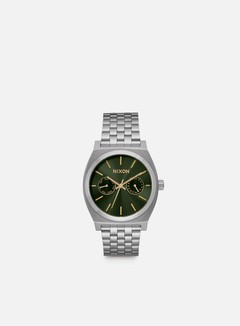 Nixon - Time Teller Deluxe, Olive Sunray