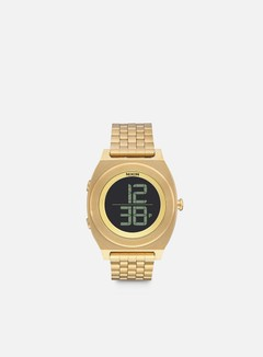 Nixon - Time Teller Digi SS, All Gold