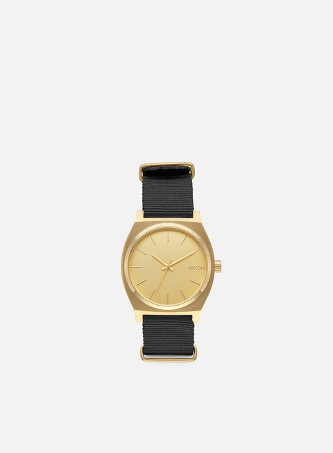 accessori nixon time teller gold black