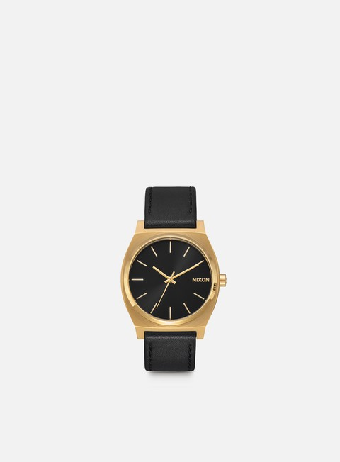accessori nixon time teller gold black black