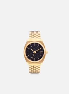 Nixon - Time Teller, Gold/Black/Stamped