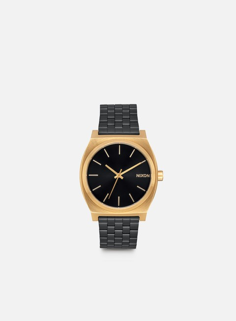 accessori nixon time teller gold black sunray