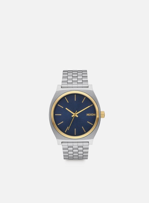 accessori nixon time teller gold blue sunray