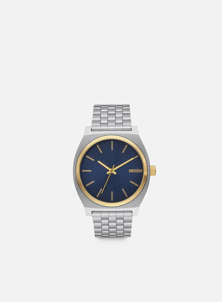 Nixon - Time Teller, Gold/Blue Sunray