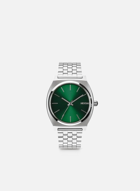accessori nixon time teller green sunray