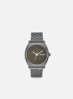 Nixon - Time Teller, Gun Metal/Slate/Orange