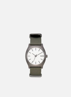 Nixon - Time Teller, Gunmetal/Silver/Surplus