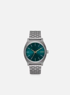 Nixon - Time Teller, Gunmetal/Spruce/Brass