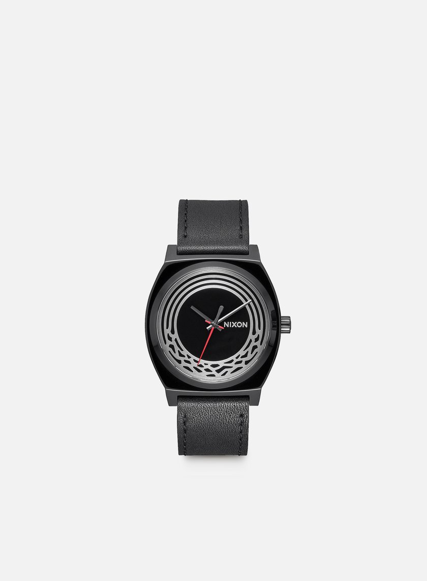 Nixon - Time Teller Leather Star Wars, Kylo Black