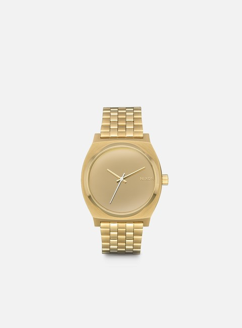 accessori nixon time teller light gold mirror