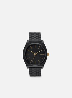 Nixon - Time Teller, Matte Black/Gold