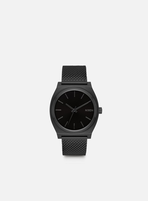 accessori nixon time teller milanese all black