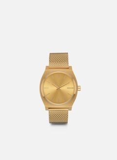 Nixon - Time Teller Milanese, All Gold