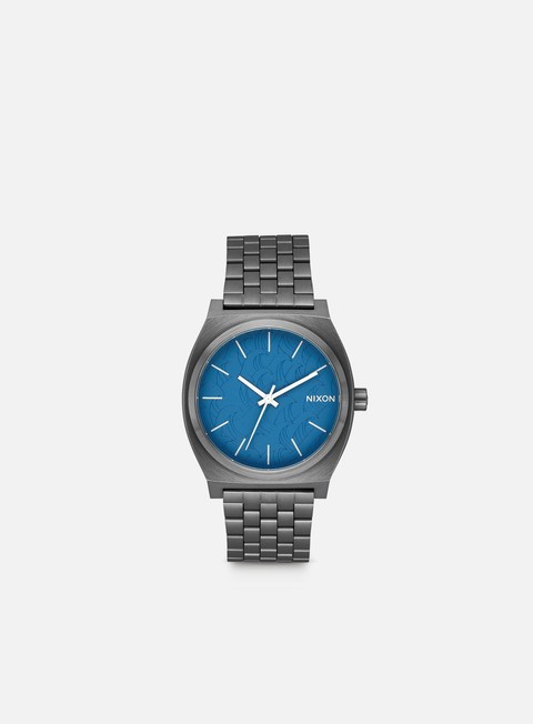 accessori nixon time teller navy gun metal