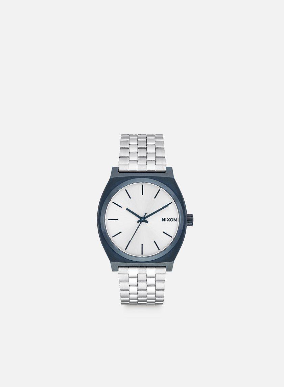 Nixon - Time Teller, Navy/Silver
