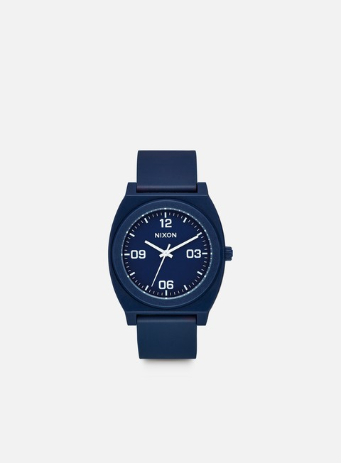 accessori nixon time teller p corp matte navy white