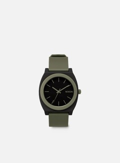Nixon - Time Teller P, Matte Black/Surplus 1
