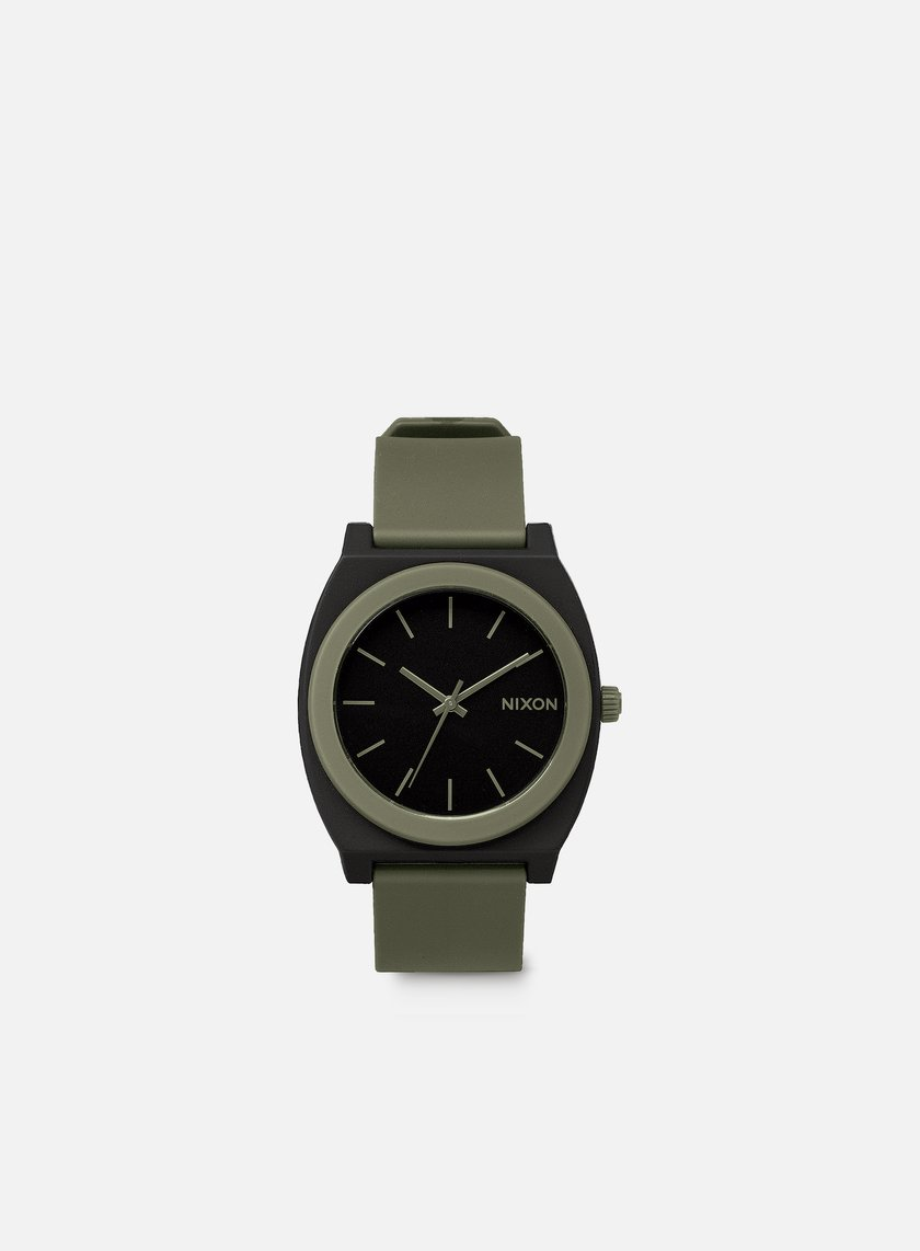 Nixon - Time Teller P, Matte Black/Surplus