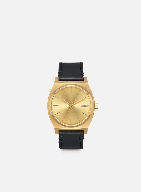 accessori nixon time teller pack all gold black brown