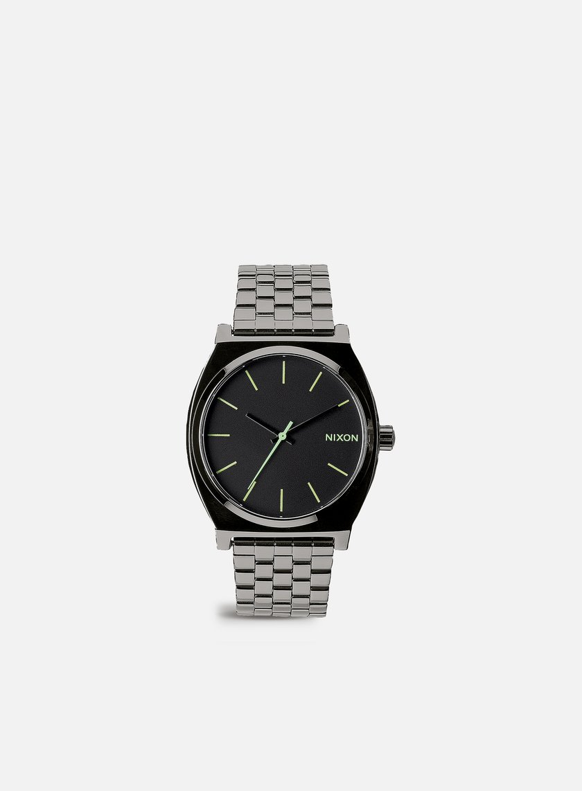 Nixon - Time Teller, Polished Gunmetal/Lum