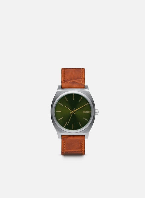 accessori nixon time teller saddle gator