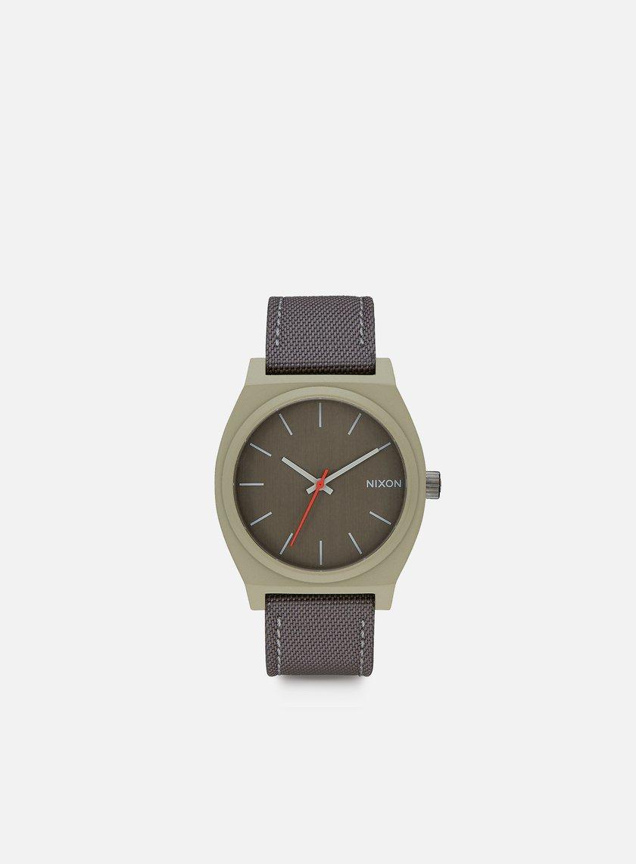Nixon - Time Teller, Sage/Gunmetal