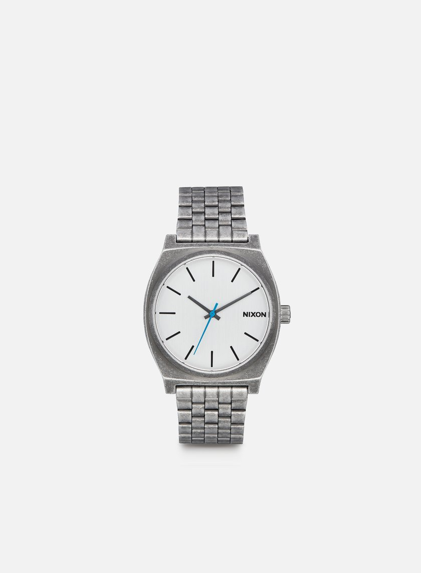 Nixon - Time Teller, Silver/Antique