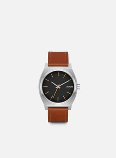 Nixon - Time Teller, Silver/Black/Brown