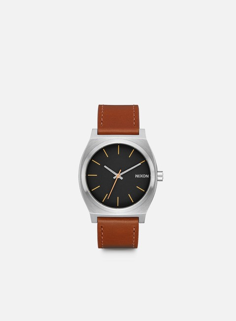 accessori nixon time teller silver black brown