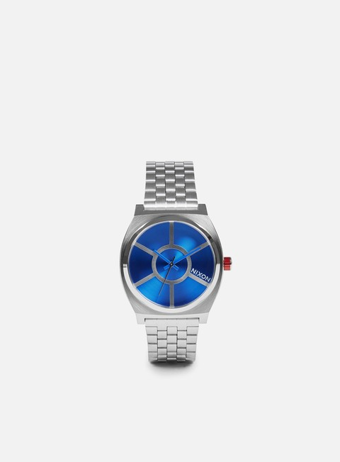 accessori nixon time teller star wars r2d2 blue
