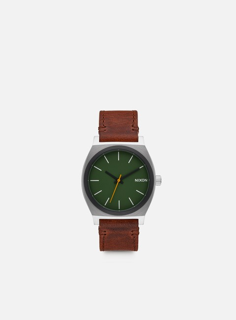 accessori nixon time teller surplus brown