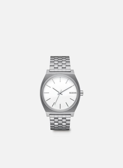 accessori nixon time teller white