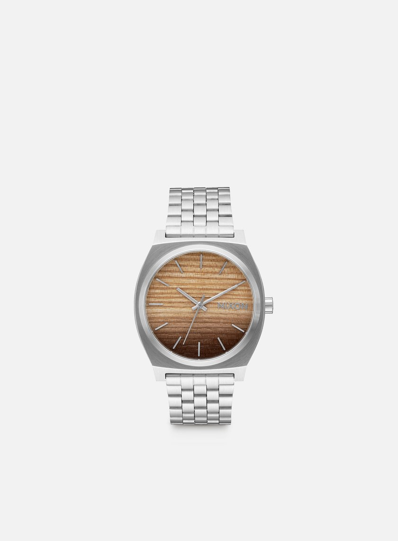 Nixon - Time Teller, Wood/Silver