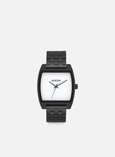 accessori nixon time tracker black white