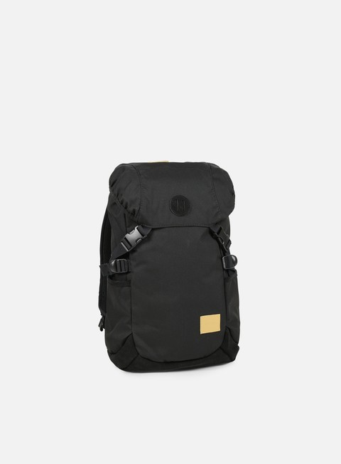 accessori nixon trail backpack black yellow