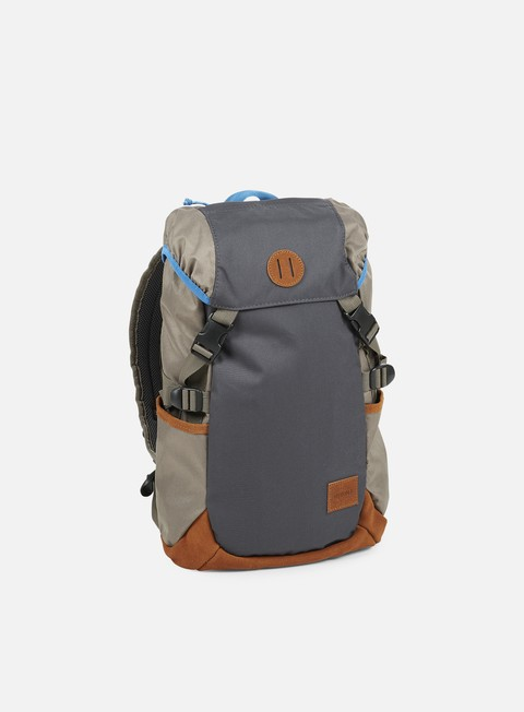 accessori nixon trail backpack dark grey falcon