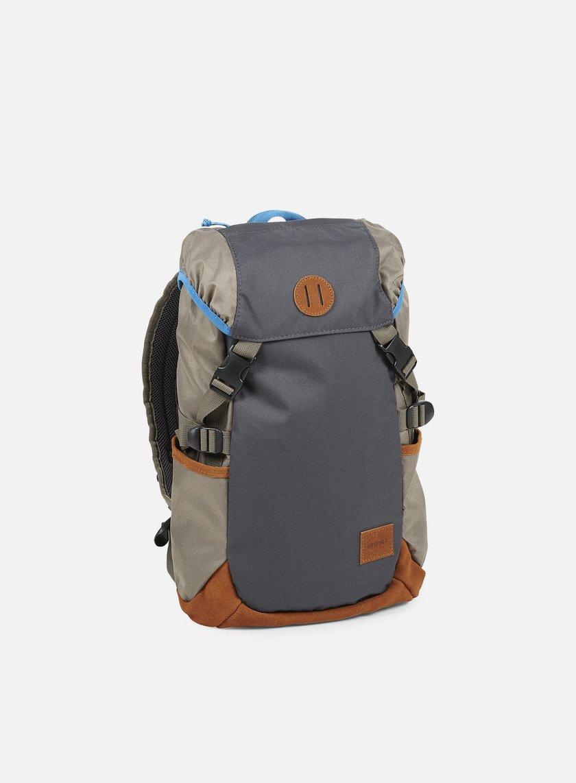 Nixon - Trail Backpack, Dark Grey/Falcon