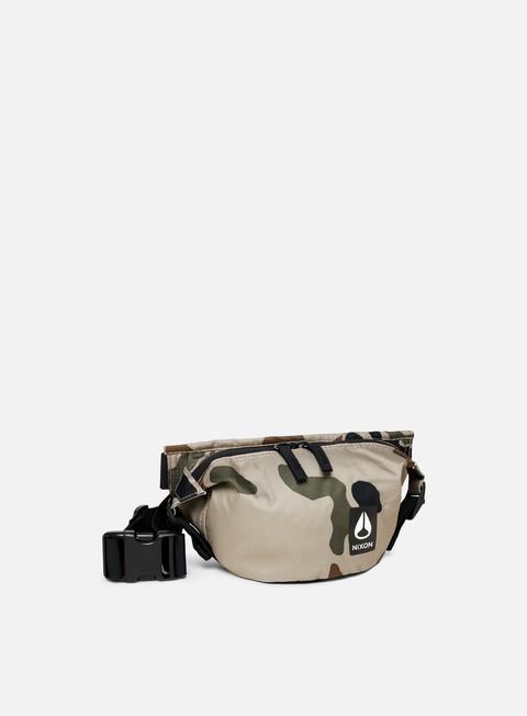 accessori nixon trestles hip pack khaki camo