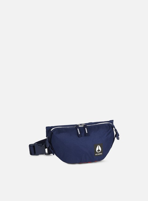 accessori nixon trestles hip pack red white blue