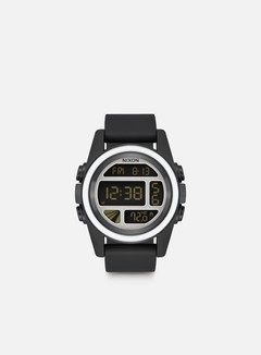 Nixon - Unit, Black/White/Silver