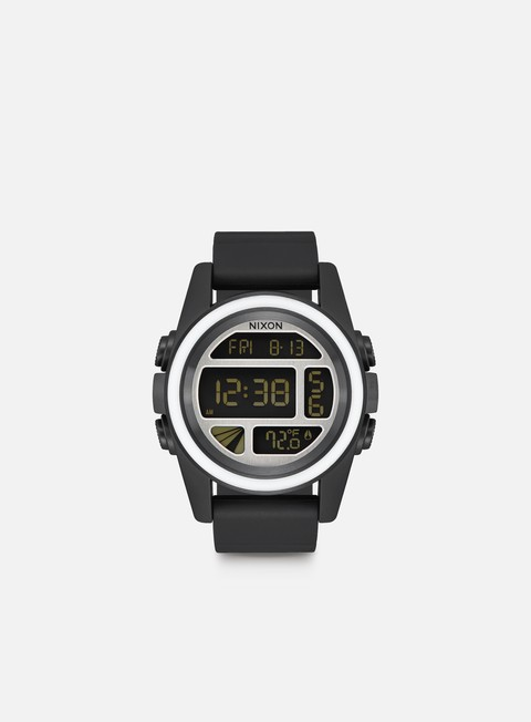 accessori nixon unit black white silver