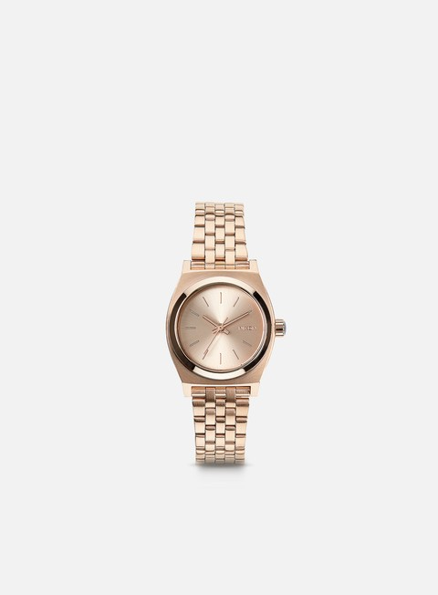 accessori nixon wmns small time teller all rose gold