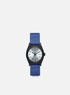 Nixon - WMNS Small Time Teller, Black/Blue Gator