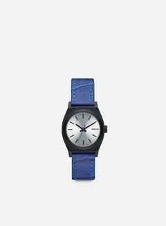 Nixon - WMNS Small Time Teller, Black/Blue Gator