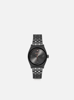 Nixon - WMNS Small Time Teller, Black Crystal/Rose Gold