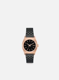 Nixon - WMNS Small Time Teller, Black/Rose/Black