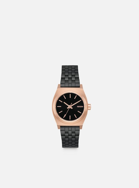 accessori nixon wmns small time teller black rose black